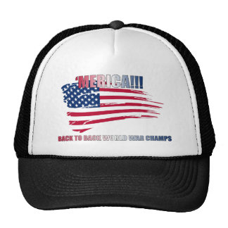 'merica!!! Back to Back, baby!!! Trucker Hat