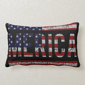 MERICA - Bandera americana de los E.E.U.U. del arg Almohada