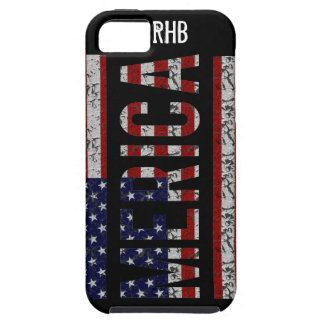 MERICA - Bandera americana de los E.E.U.U. del arg iPhone 5 Fundas