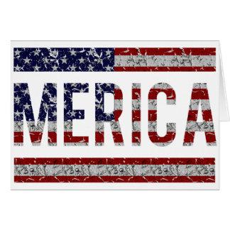 MERICA - Bandera americana de los E.E.U.U. del arg Tarjetas