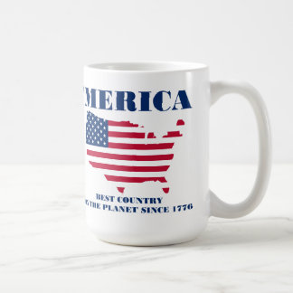 'Merica best country on the planet since 1776 Coffee Mug