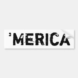 'merica Bumper Sticker