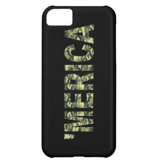 'MERICA Camo iPhone 5 Case (black)