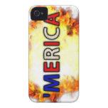 'MERICA Case-Mate iPhone 4 COBERTURA