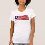 'Merica - compromiso del diseño de la bandera de l Camisetas