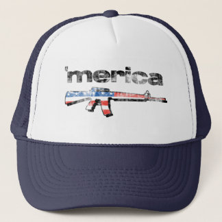 Merica distressed Rifle Hat