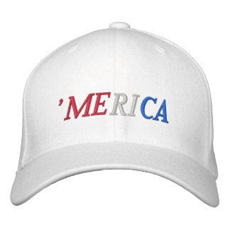 'merica embroidered baseball cap