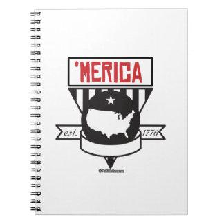 'Merica - Est 1776 Notebook