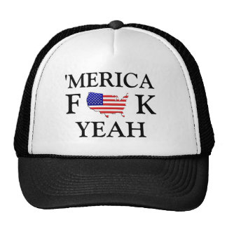Merica F**k yeah hat