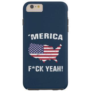 'Merica Fck Yeah! Tough iPhone 6 Plus Case