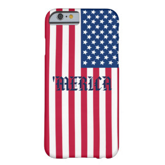 'MERICA Flag Barely There iPhone 6 Case