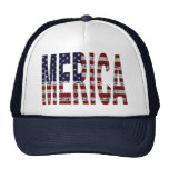 'MERICA - Grunge USA Flag Hat