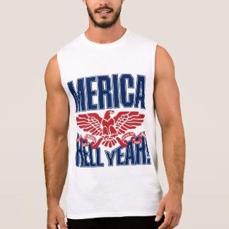 MERICA Hell Yeah Sleeveless T-shirt