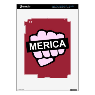 Merica in Your Face Decals For iPad 3