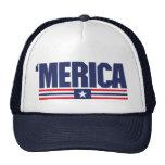 Merica logo Cap Trucker Hat