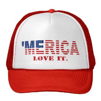 'MERICA LOVE IT Hat