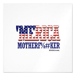 'Merica - Mother F -er Magnetic Invitations