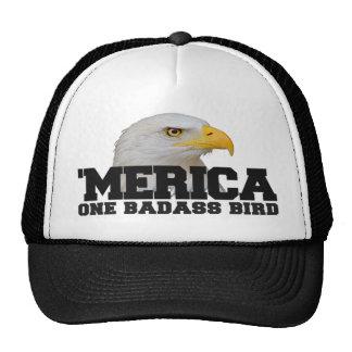 'MERICA One Badass Bird Trucker Hat