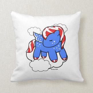 Merica Pony   Throw Pillow Dolce & Pony