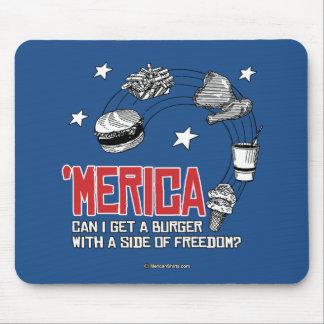 Merica - puede yo conseguir una hamburguesa con un tapetes de raton