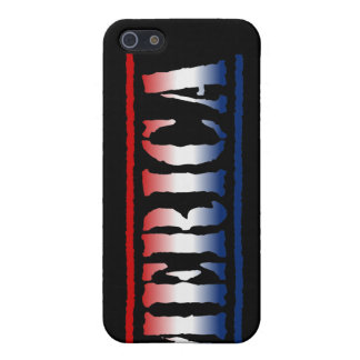 'MERICA Red White & Blue Cover For iPhone SE/5/5s