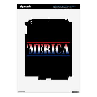 'MERICA Red White & Blue iPad 3 Skin