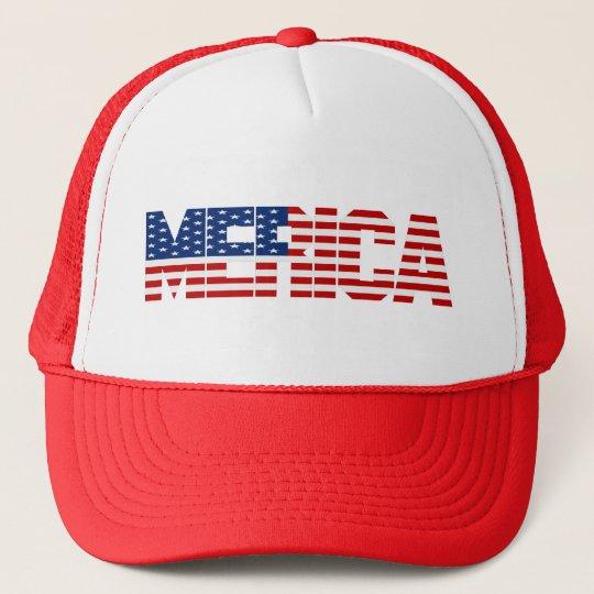 MERICA Stars & Stripes Hat
