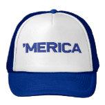 'MERICA Stitch-Style Hat (blue)