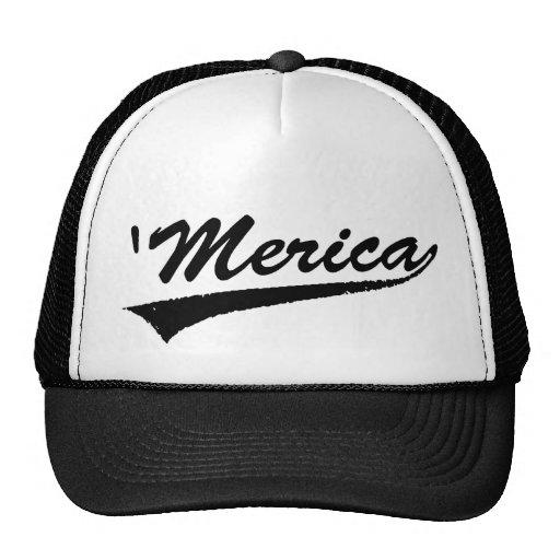'merica Swoosh Trucker Hat