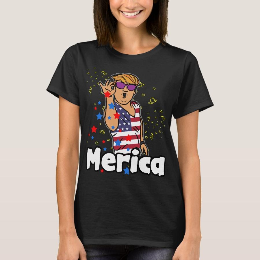 Merica T-Shirt - Best Selling Long-Sleeve Street Fashion Shirt Designs