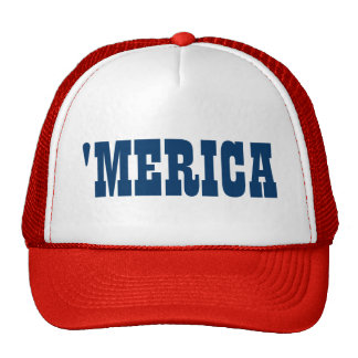 Merica trucker hat for 4th of July party