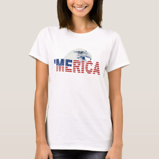 'MERICA U.S. Flag & Bald Eagle T-shirt