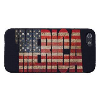 'MERICA U.S. Flag iPhone 5 Case