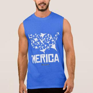 Merica - United States of Combat Sleeveless Shirt