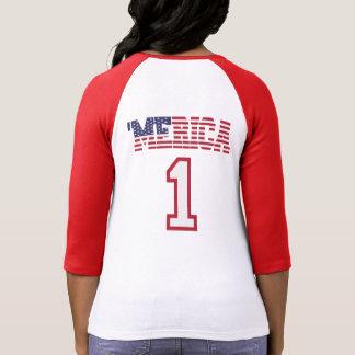 MERICA US Flag 1 Jersey T-shirts