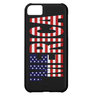 'MERICA US Flag iPhone 5 Case-Mate Barely There™