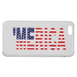 'MERICA US Flag Cover For iPhone 5C