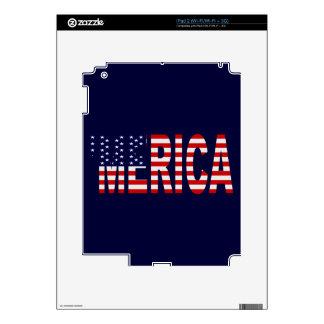 'MERICA US Flag iPad 2 Skins