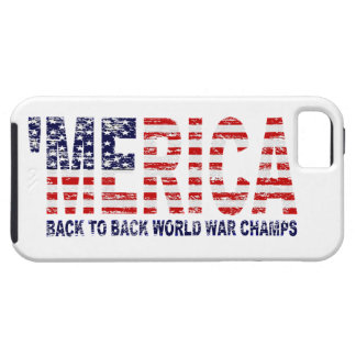 'MERICA US Flag World War Champs iPhone 5 Case