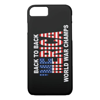 'MERICA US Flag World War Champs iPhone 7 case