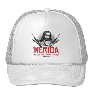 'Merica - We Got Guns and Jesus Trucker Hat