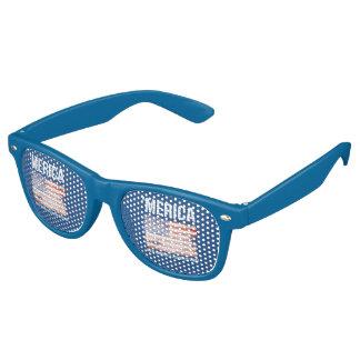'Merica - Where Winning is a Fashion Statement Retro Sunglasses
