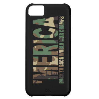 'MERICA World War Champs Camo iPhone 5 Case