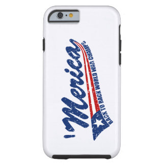 MERICA World War Champs Distressed iPhone 6 case