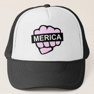 mericafist.png trucker hat