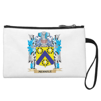 Mericle Coat of Arms - Family Crest Wristlet Purses