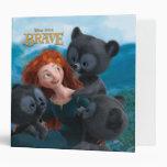 Merida and the Three Bear Cubs Binders
