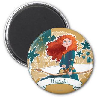 Merida - Brave Princess 2 Inch Round Magnet