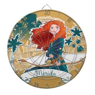 Merida - Brave Princess Dartboard