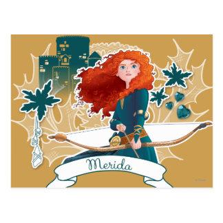 Merida - Brave Princess Postcard